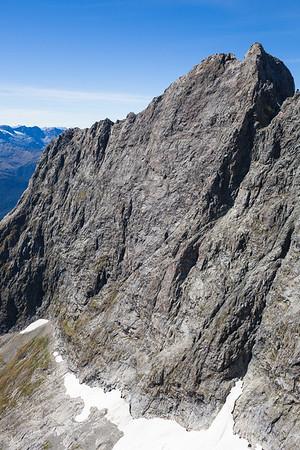 Ngai Tahu north face, Darran Mountains, Fiordland National Park