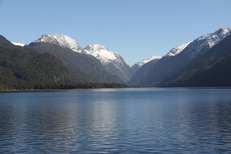 Approaching Glade Wharf, Lake Te Anau