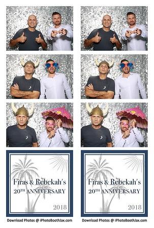 Firas & Rebekah 20th Anniversary