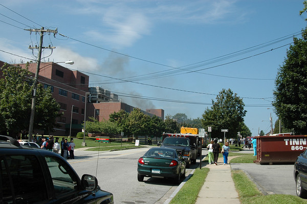 2nd Alarm Lawrence Memorial Hospital
