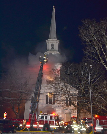 Thompson, 3rd Alarm, Church Fire