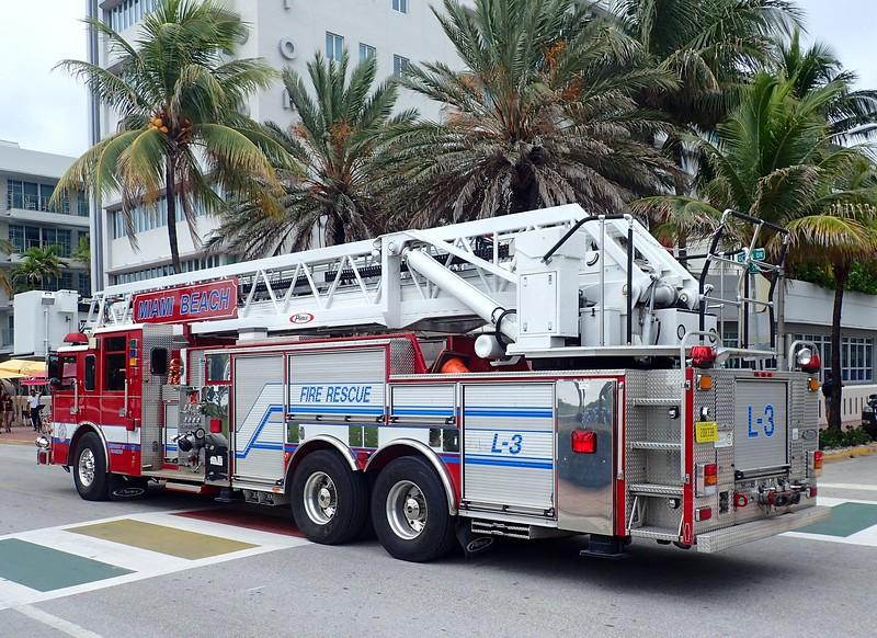 Miami Beach, FL - Aug., 2017