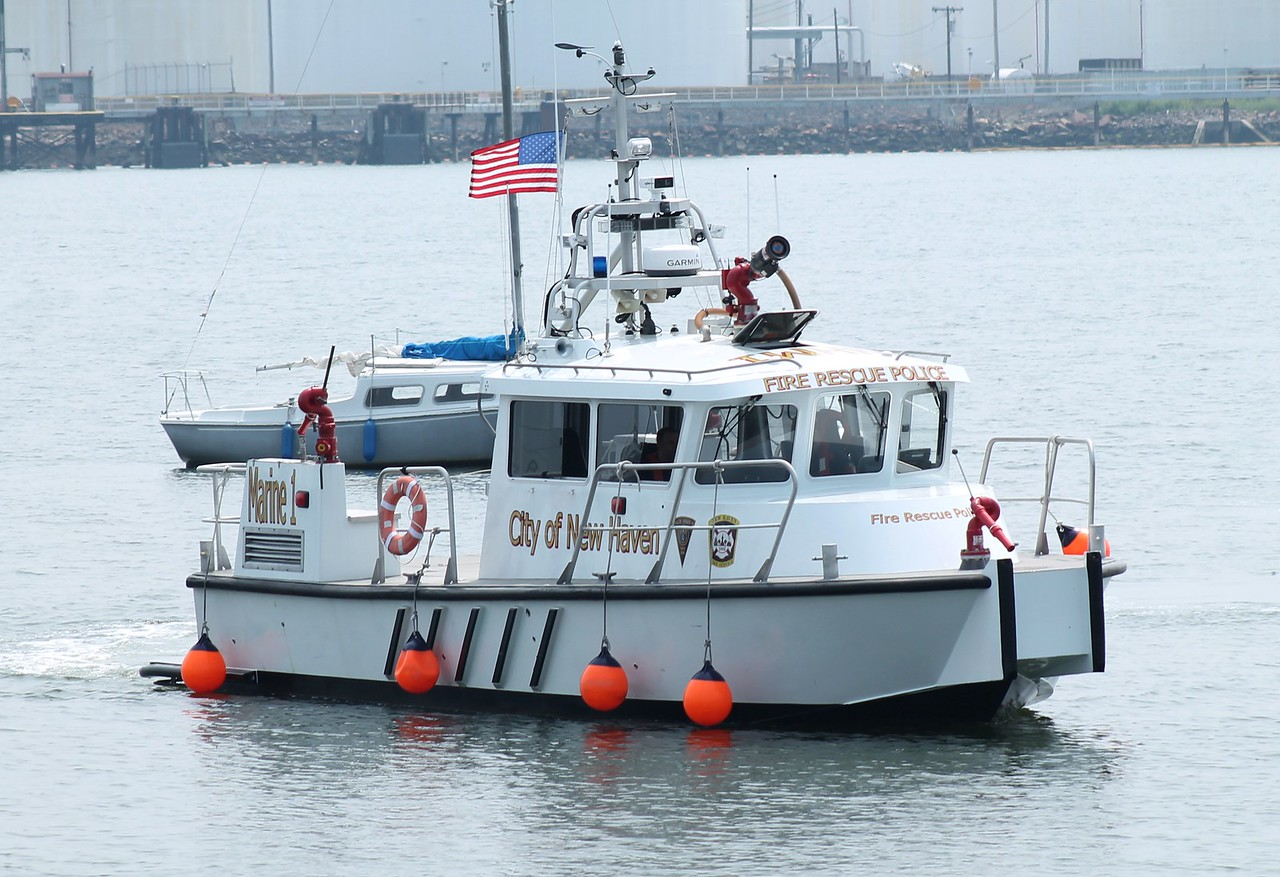 New Haven, CT Fire boat