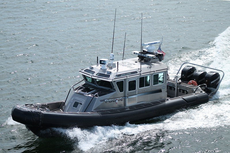 Fairfield, CT Police Boat