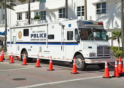 Homeland Security & Police ESU vehicles