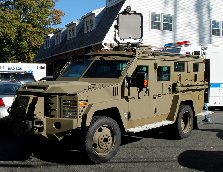 Lenco Bearcat Armored Vehicle -2016