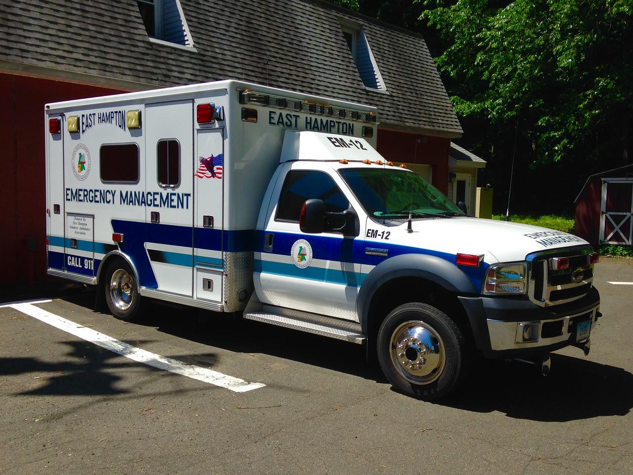 East Hampton, CT - Cobalt fire Station