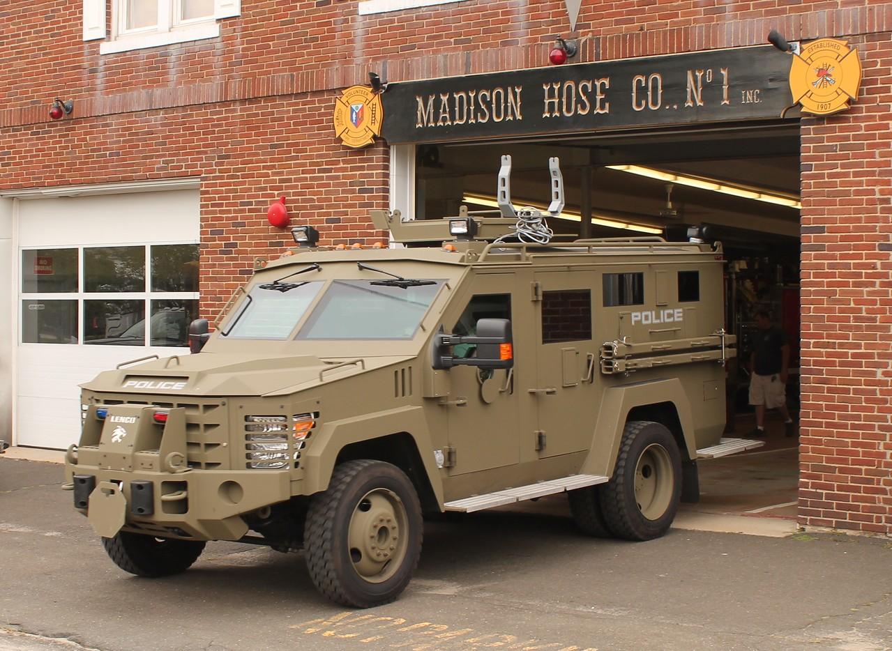 Lenco Bearcat Armored Vehicle -2014