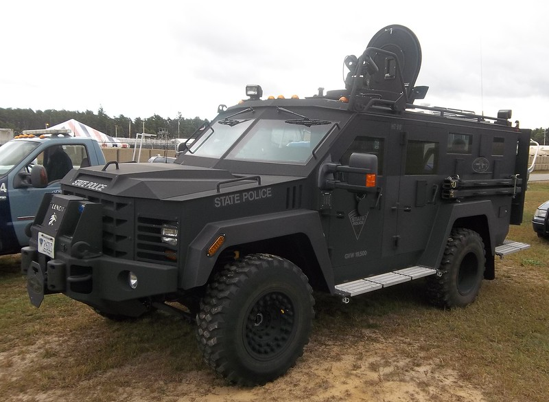 Lenco Bearcat Armored Vehicle -2013