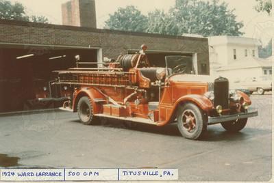 Ward LaFrance 1934 Titusville, PA