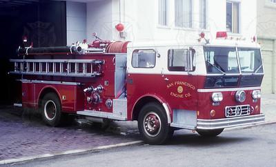 1975 Ward LaFrance  San Francisco E14 - 549 26th Ave
