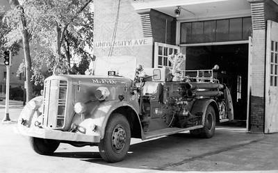 1943 Ward LaFrance 1250 gpm Pumper, Minneapolis, MN