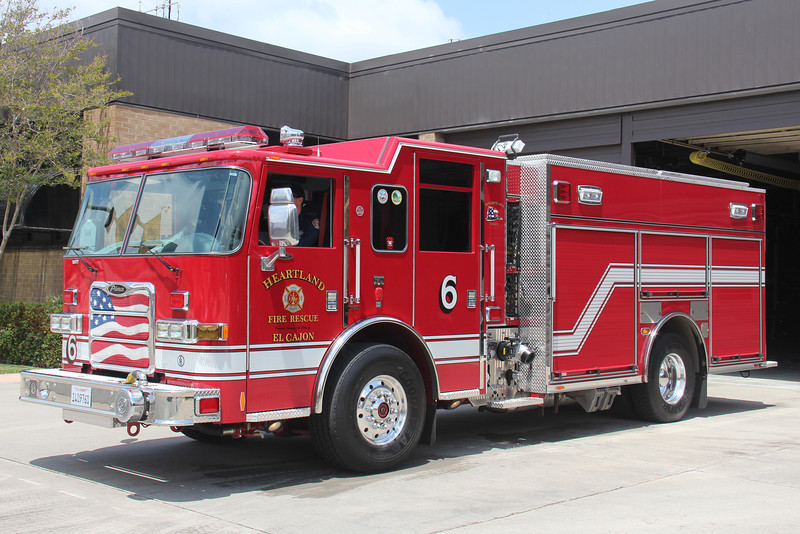 Heartland Fire Dept - El Cajon Engine 6