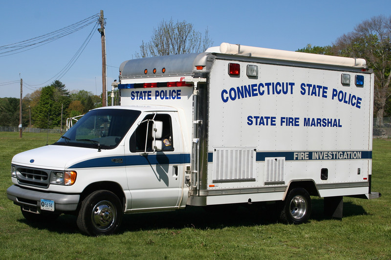 Connecticut Fire Marshall - Conn State Police - Ford E350 Box Truck