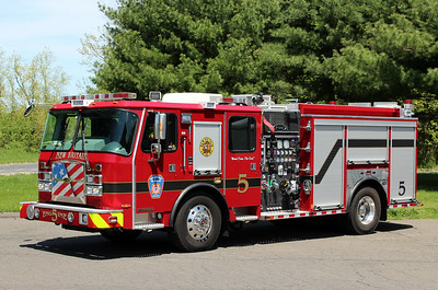 New Britain Conn Engine 5 - 2018 E-One Typhoon 1500/500