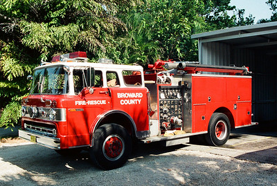 Broward County Former Engine 36
