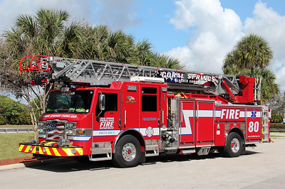 Coral Springs Ladder 80