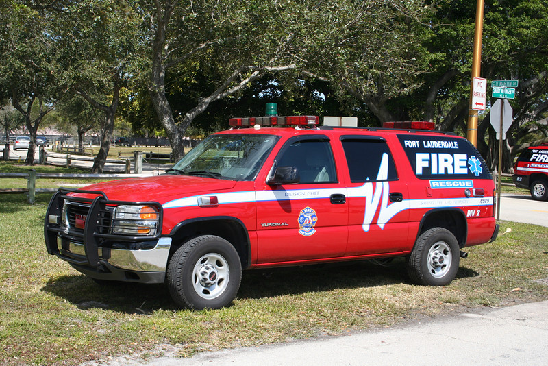 Ft Lauderdale Florida Division 2 - Yukon XL command vehicle