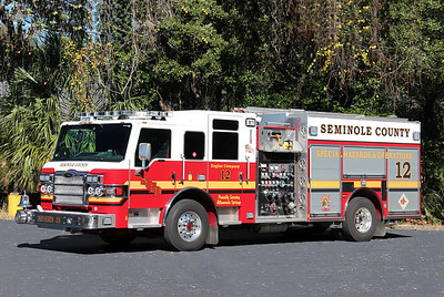 Seminole County Engine 12