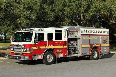 Seminole County Engine 35