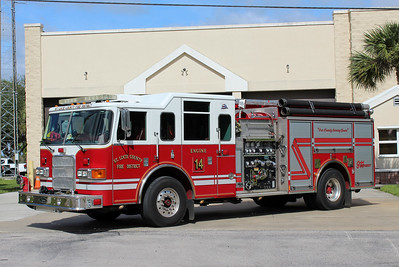 St Lucie County Engine 14