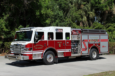 St Lucie County Engine 6
