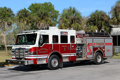 St Lucie County Engine 1