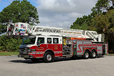 St Lucie County Ladder 14