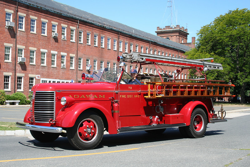 "Agawam Mass District 2 T-2 - Unk Specs<br /> <br /> ** Privately Owned ""Fire Company""  **"
