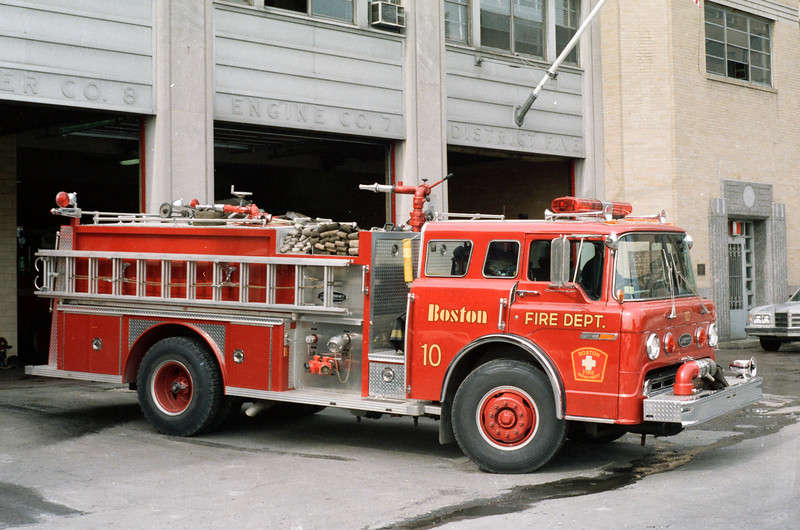 Boston Former Engine 10