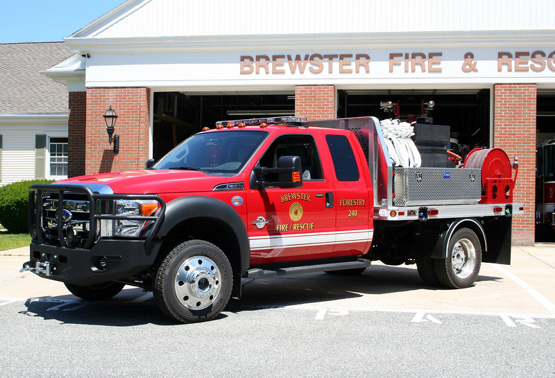 Brewster Mass Forestry 240 - 2011 Ford F-550 4x4 /CET 200/200/10A
