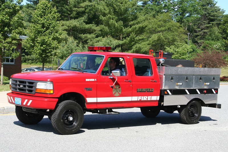 Brimfield Mass Brush 1 - Ford F350 XL / Northern Equip