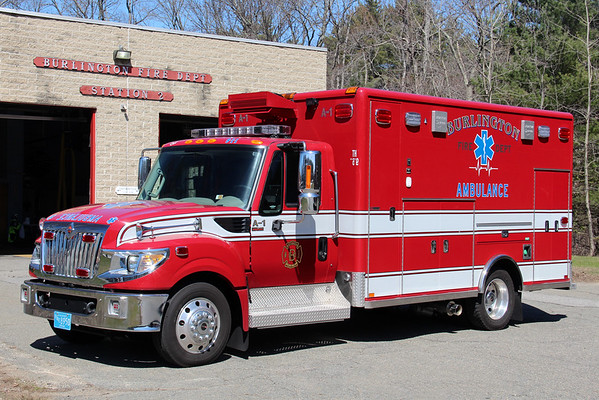 Burlington Ambulance 1
