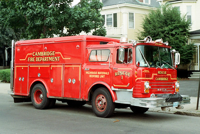 "Cambridge Former Rescue 1 ""Big Red"""