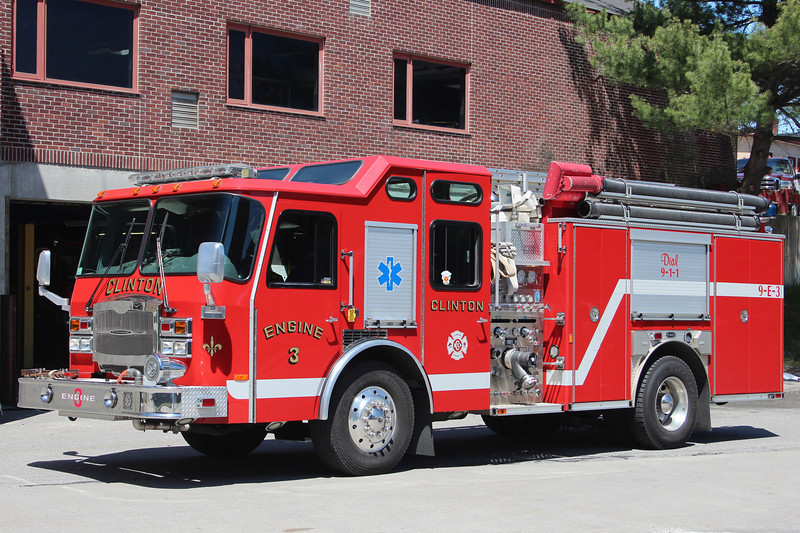 Clinton Mass Engine 3 - 2005 E-One Typhoon 1500/750