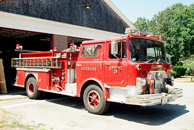 Duxbury Mass Former Engine 3