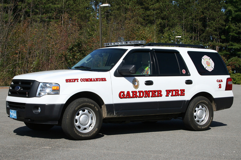 Gardner Mass Car 2 - 2010 Ford Expedition 4x4 Command Vehicle.