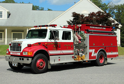 Hubbardston Engine 1