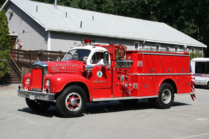 Lexington Mass Former Engine 3 - 1958 Mack B 750/500<br /> <br /> ** Privately owned **