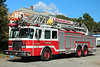 Lexington Mass Ladder 1 - 2000 E-One 100' Aerial