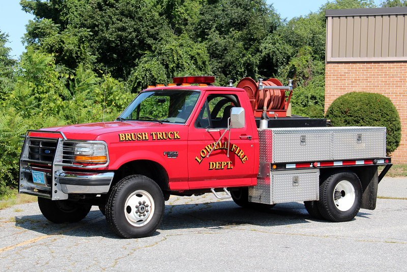 Lowell Brush Truck