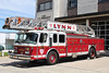 Lynn Mass Ladder 3 - 1995 E-One Hurricane 110' Aerial (Spare Ladder - Former Ladder 2)