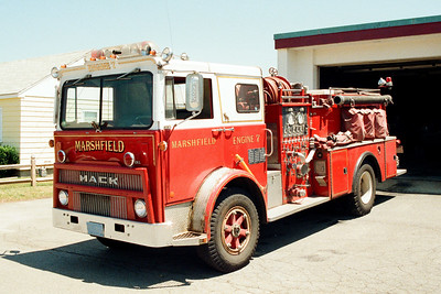 Marshfield Former Engine 7
