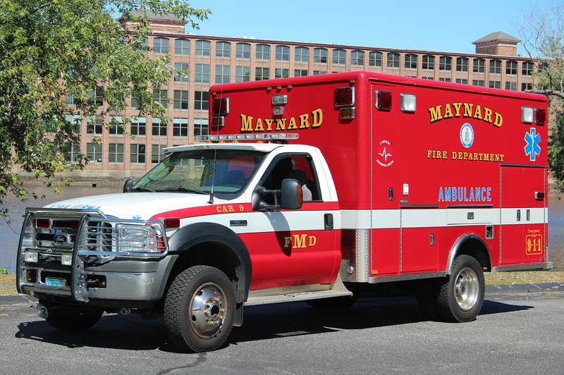 Maynard Former Car 9 - 2005 Ford F-450 4x4 /Horton BLS Unit<br /> <br /> ** Now a Spare, Remains Numbered Car 9 **