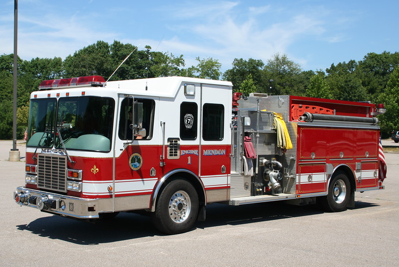 Mendon Mass Engine 1 - 2003 HME / Central States 2250/1250/100-A/50-B