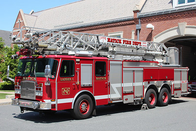 Natick Mass Ladder 1 - 2006 E-One Cyclone II 100' Aerial