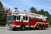 North Reading Mass Ladder 1 - 1999 HME / Smeal 105' Aerial