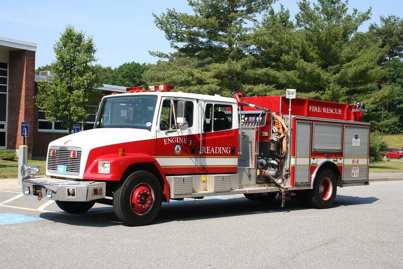 Reading Mass Engine 3 - 1995 Freightliner / 3D 1250/750/50