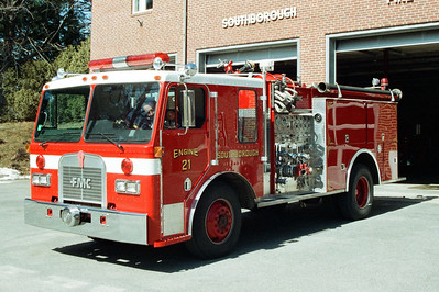 Southborough Mass former Engine 21
