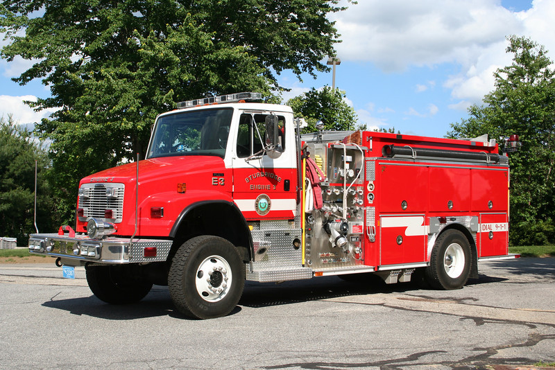 Sturbridge Mass Engine 3 - 2004 Freightliner FL80 4x4 /E-One 1250/1000